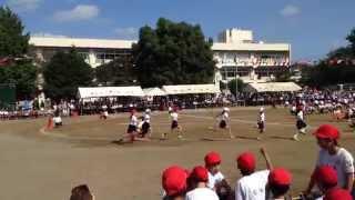 일본 초등학교 운동회 #1 달리기 모습