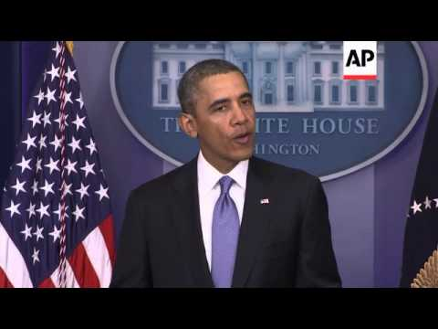 US President Obama comments on the Crimean referendum