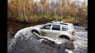 Едем к реке Ура. Duster, УАЗ, Hummer, Toyota Hilux Arctic Trucks. Мурманск. Часть 1