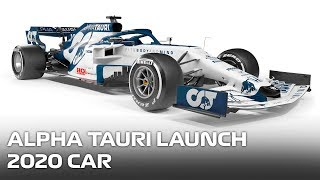 Alpha Tauri Launch 2020 Car
