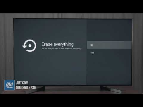 How To Factory Reset Your Sony TV - 2018