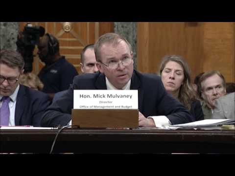 Sen. Murray Challenges President Trump's Budget Director to Explain Budget Cuts