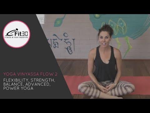 Yoga Vinyasa Strong Flow - 30 Mins