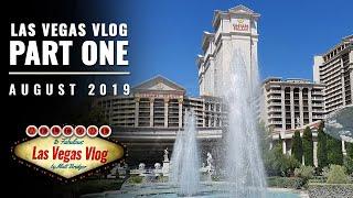 Las Vegas Vlog (10/08/19 - 23/08/19) Part One