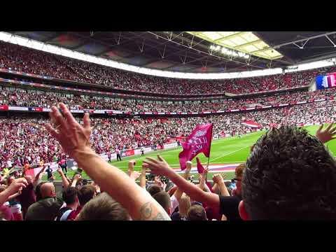 THE VILLA BOYS FROM ASTON Wembley 2019 Playoff Final. ASTON VILLA Vs Derby County