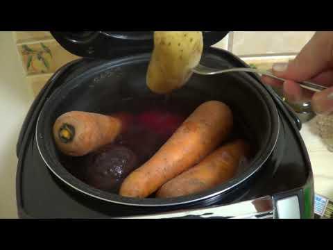 Варка овощей в мультиварке