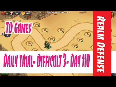 Realm Defense  Daily Trial  Difficult 3  Day 110