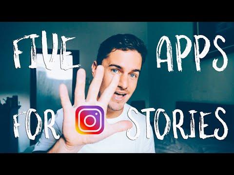 5 APPS For SMOULDERING Instagram Stories