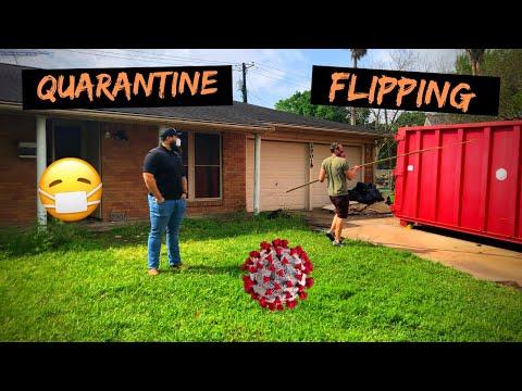 Quarantine Flipping    Real Estate Investing    VLOG