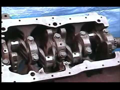 Ajuste De Motor Nissan 2 4 4a Parte Checando Los Metales