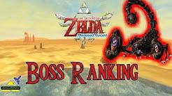 Skyward Sword - Boss Ranking