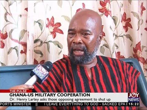 Ghana-US Military Cooperation - The Pulse on JoyNews (13-4-18)