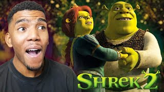 WATCHING SHREK 2 FOR THE FIRST TIME! (Movie Reaction)