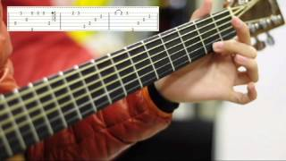 (Frozen OST) Let It Go - Sungha Jung-Tutorial & Tabs