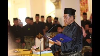Aminuddin Harun takes oath of office as Negeri Sembilan MB