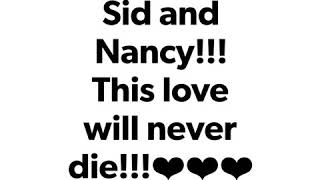 Sid and Nancy R.I.P. forever and together in punk rock!!!