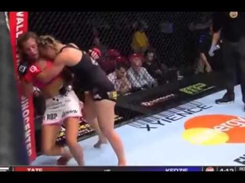 Miesha Tate vs  Julie Kedzie - Strike Force - Womens MMA