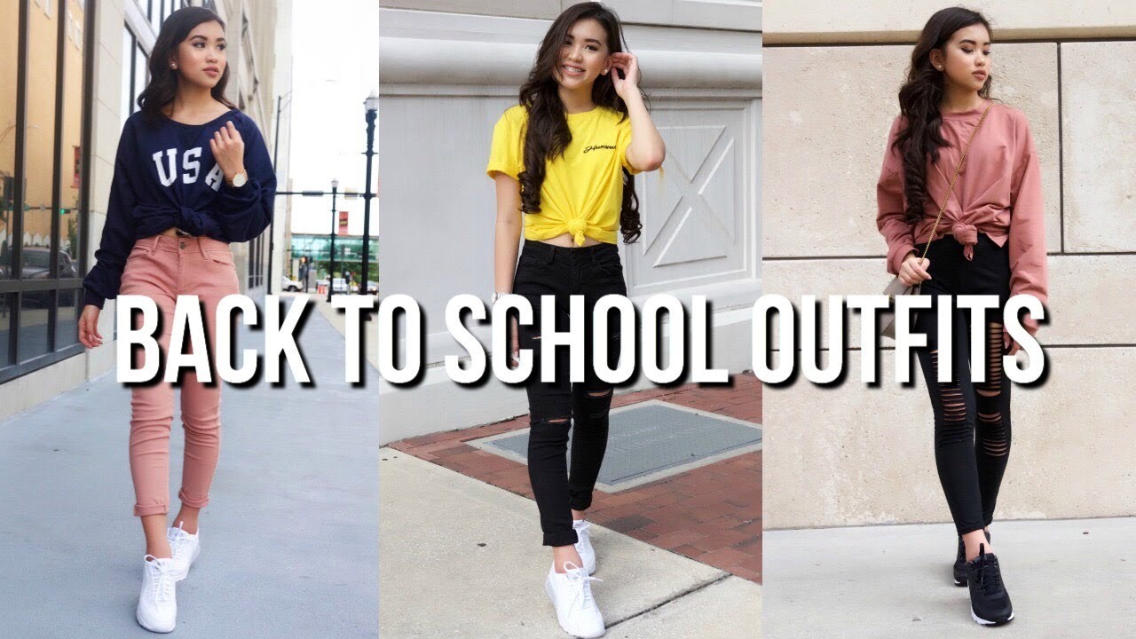 [VIDEO] - BACK TO SCHOOL OUTFIT IDEAS| OnlyKelly 3