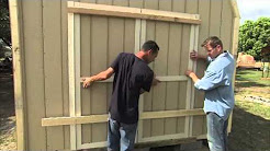 How to Build a Lowes Storage Shed