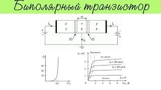 Биполярный транзистор. Основные параметры, схемы включения и мн.др.
