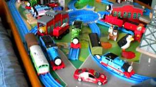 Thomas And Friends, Thomas The Tank Engine Tomy Toy  Train Table, Theme , Tomica, Song
