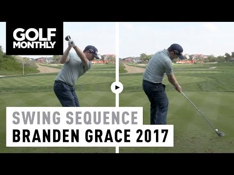 2017 Branden Grace Swing Sequence | Golf Monthly