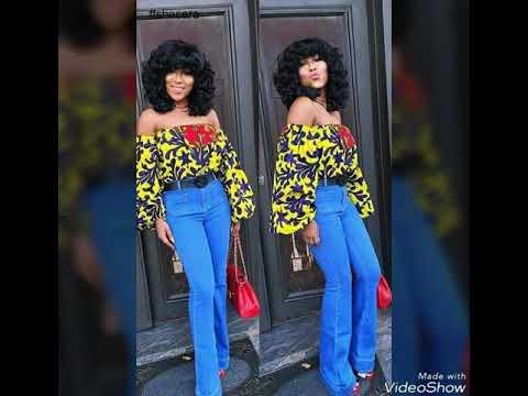 Vêtement Boubou africain en pagne wax ,mode 2017 _ 2018.