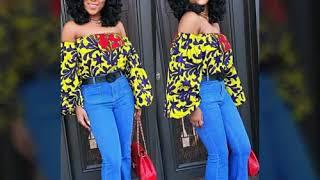 Vêtement Boubou africain en pagne wax ,mode 2017 _ 2018. thumbnail