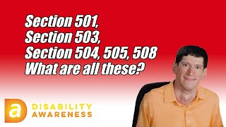 What is the Rehabilitation Act of 1973?