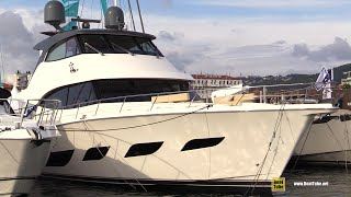 2018 Riviera Mar Oceano Yacht - Deck and Interior Walkaround - 2018 Cannes Yachting Festival
