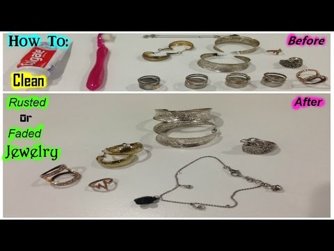How To: Clean Rusted Or Faded Jewelry | SilasQiu Part1