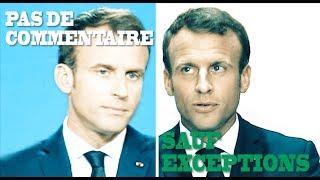 Pas de commentaire à l'étranger? Macron ne fait pas d'exception pour Mélenchon