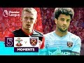 Southampton V West Ham | Top 5 Premier League Moments | Ward-Prowse, Anderson, Ings