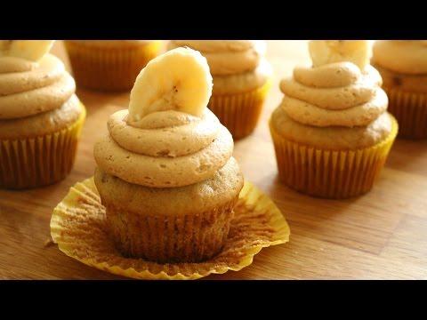Peanut Butter Banana Cupcakes | sweetco0kiepie