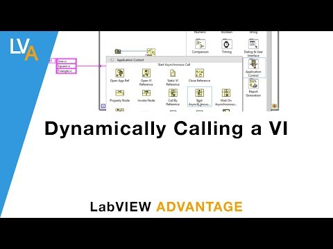 Dynamically Calling a VI – LabVIEW