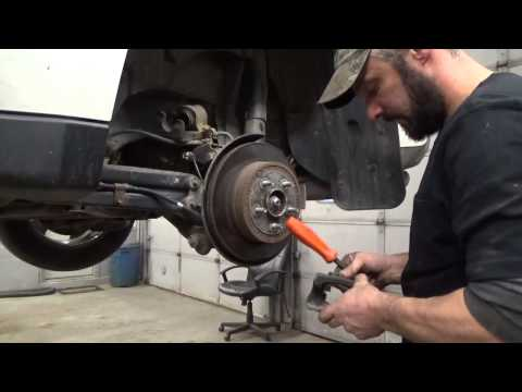 Replace All Disc Brake Pads and Rotors – Suzuki XL7