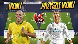 IKONY vs PRZYSZŁE IKONY | FIFA 18 EKSPERYMENT