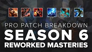 Pro Patch Breakdown: Pre-season 6 Masteries Reworked ft. Niels, Lemon, & IWD | League of Legends