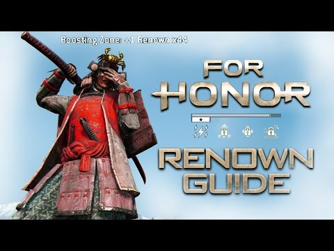 Everything you need to know about RENOWN  - For Honor Guide