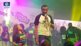 EN: Nathaniel Bassey Performs OLOWOGBOGBORO At Hallelujah Festival