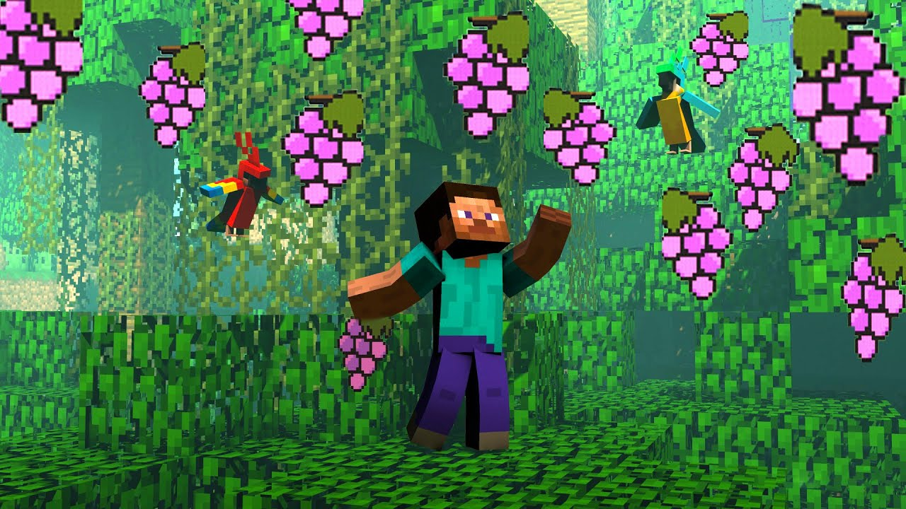 All Types Of FRUITS And VEGETABLES Trees In Minecraft | I Am Khaleel