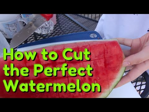 How to Cut a Watermelon Perfectly