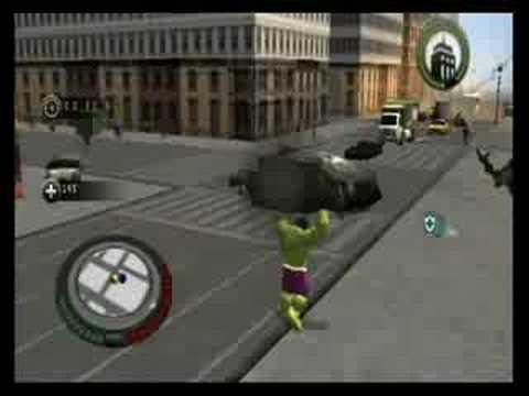 the incredible hulk movie game walkthrough part 10