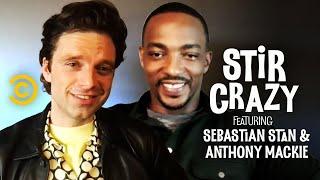 Who Will Chris Evans Text First, Anthony Mackie or Sebastian Stan? - Stir Crazy with Josh Horowitz