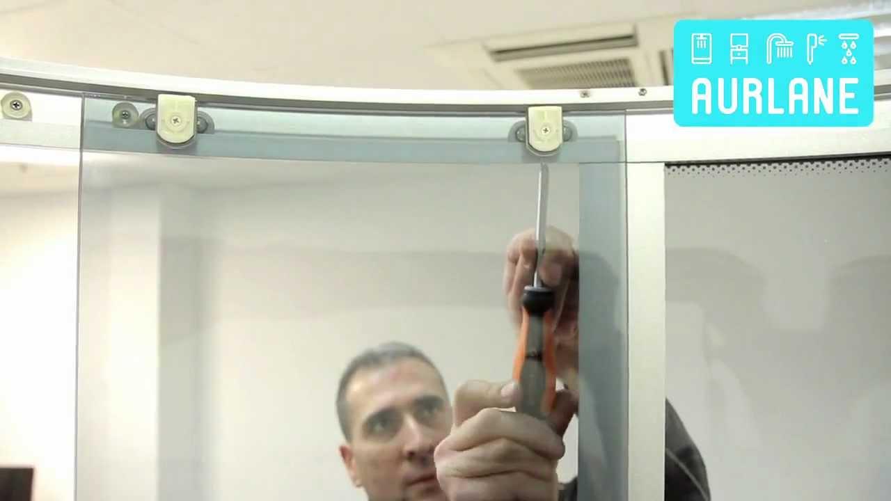 Astuce r glage des portes sur modele avec buse avec systeme anti calcaire youtube - Reglage porte coulissante ...