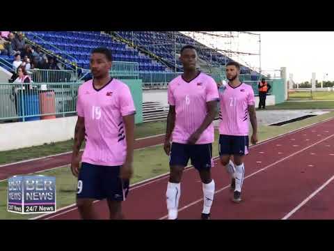 Bermuda's Football Team Enter, June 6 2019