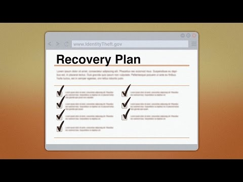 Recovering from Identity Theft | Federal Trade Commission