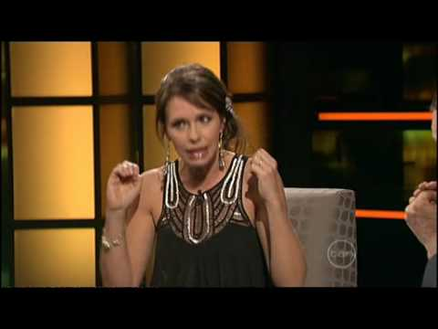 Tasma Walton interview on ROVE - Part 1 (of 2)