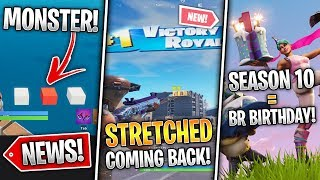 Stretched Return Patch, Event Found, Season 10 x Fortnite Birthday, Leaks! (Fortnite News)