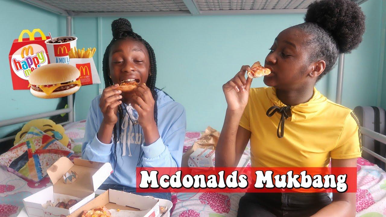 MCDONALD MUKBANG/SECONDARY EXPERIENCE/ PAINFUL FOOD, RUDE TEACHERS...